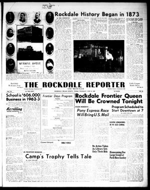Primary view of object titled 'The Rockdale Reporter and Messenger (Rockdale, Tex.), Vol. 90, No. 23, Ed. 1 Thursday, June 14, 1962'.