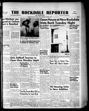 Primary view of object titled 'The Rockdale Reporter and Messenger (Rockdale, Tex.), Vol. 80, No. 29, Ed. 1 Thursday, August 7, 1952'.