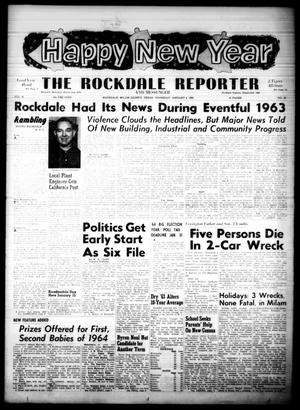 Primary view of object titled 'The Rockdale Reporter and Messenger (Rockdale, Tex.), Vol. 91, No. 52, Ed. 1 Thursday, January 2, 1964'.
