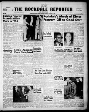Primary view of object titled 'The Rockdale Reporter and Messenger (Rockdale, Tex.), Vol. 82, No. 52, Ed. 1 Thursday, January 13, 1955'.