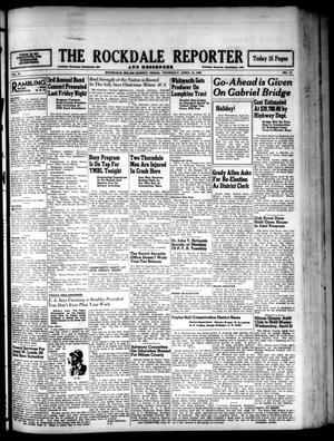 Primary view of object titled 'The Rockdale Reporter and Messenger (Rockdale, Tex.), Vol. 76, No. 12, Ed. 1 Thursday, April 15, 1948'.