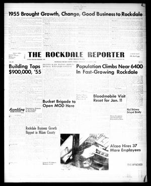 Primary view of object titled 'The Rockdale Reporter and Messenger (Rockdale, Tex.), Vol. 83, No. 51, Ed. 1 Thursday, January 5, 1956'.