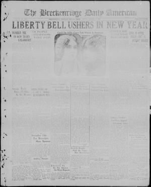 The Breckenridge Daily American (Breckenridge, Tex.), Vol. 6, No. 153, Ed. 1, Friday, January 1, 1926
