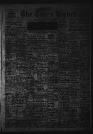 Primary view of object titled 'The Cuero Record (Cuero, Tex.), Vol. 67, No. 63, Ed. 1 Wednesday, March 15, 1961'.