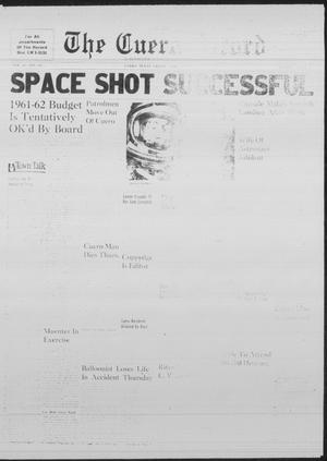 Primary view of object titled 'The Cuero Record (Cuero, Tex.), Vol. 67, No. 107, Ed. 1 Friday, May 5, 1961'.