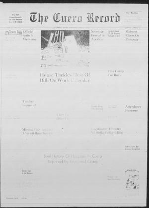 Primary view of object titled 'The Cuero Record (Cuero, Tex.), Vol. 67, No. 112, Ed. 1 Thursday, May 11, 1961'.