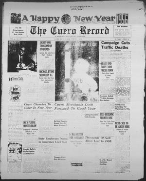 Primary view of object titled 'The Cuero Record (Cuero, Tex.), Vol. 61, No. 279, Ed. 1 Sunday, January 1, 1956'.