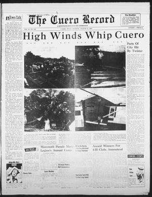 Primary view of object titled 'The Cuero Record (Cuero, Tex.), Vol. 61, No. 229, Ed. 1 Tuesday, August 31, 1954'.