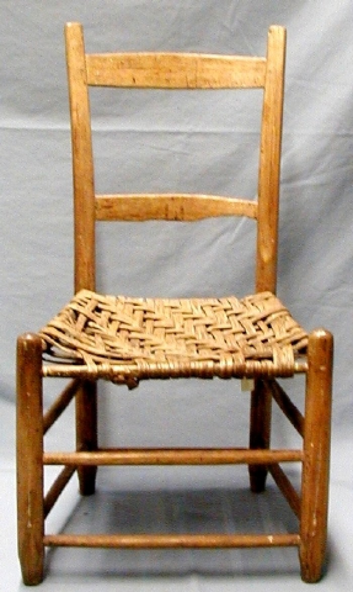 Picture of: Wooden Ladder Back Chair The Portal To Texas History