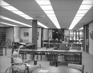 [Interior of the Deaf Smith County Library]