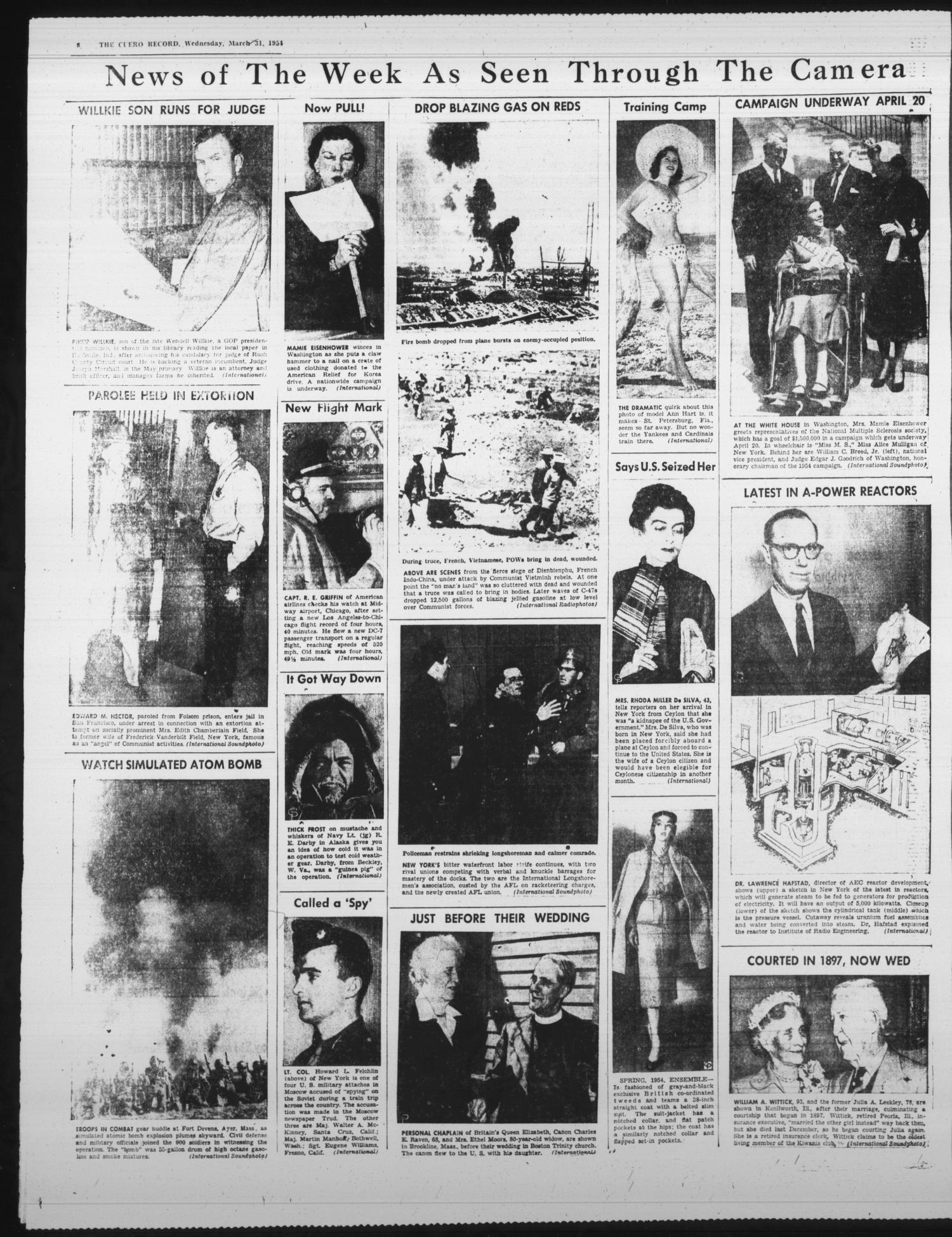The Cuero Record (Cuero, Tex ), Vol  60, No  78, Ed  1 Wednesday