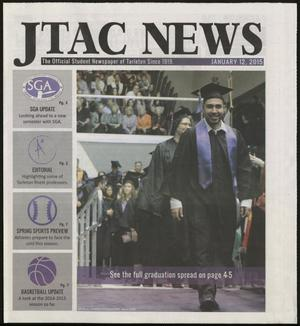 Primary view of object titled 'JTAC News (Stephenville, Tex.), Ed. 1 Monday, January 12, 2015'.