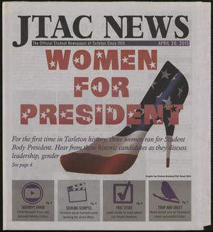 Primary view of object titled 'JTAC News (Stephenville, Tex.), Ed. 1 Monday, April 20, 2015'.