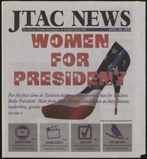 JTAC News (Stephenville, Tex.), Ed. 1 Monday, April 20, 2015