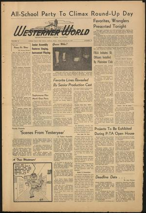Primary view of object titled 'The Westerner World (Lubbock, Tex.), Vol. 18, No. 20, Ed. 1 Friday, February 22, 1952'.