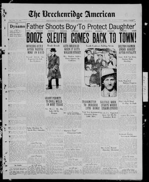 The Breckenridge American (Breckenridge, Tex.), Vol. 8, No. 269, Ed. 1, Thursday, May 17, 1928