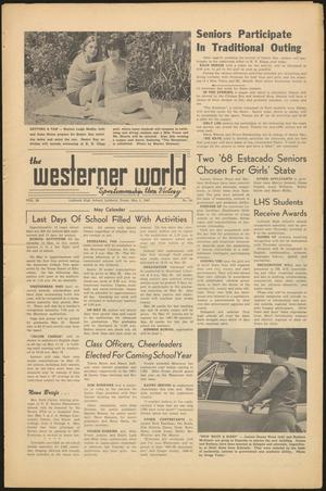 Primary view of object titled 'The Westerner World (Lubbock, Tex.), Vol. 33, No. 30, Ed. 1 Friday, May 5, 1967'.