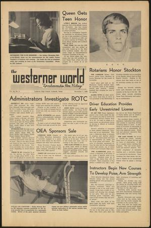 Primary view of object titled 'The Westerner World (Lubbock, Tex.), Vol. 36, No. 8, Ed. 1 Friday, November 7, 1969'.