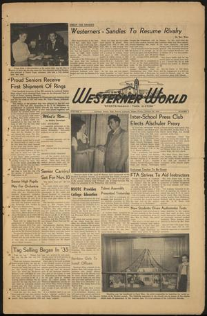 The Westerner World (Lubbock, Tex.), Vol. 17, No. 6, Ed. 1 Friday, October 20, 1950