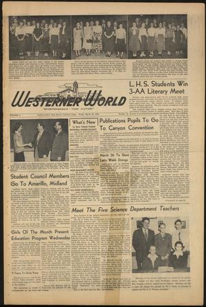 The Westerner World (Lubbock, Tex.), Vol. 16, No. 25, Ed. 1 Friday, March 24, 1950