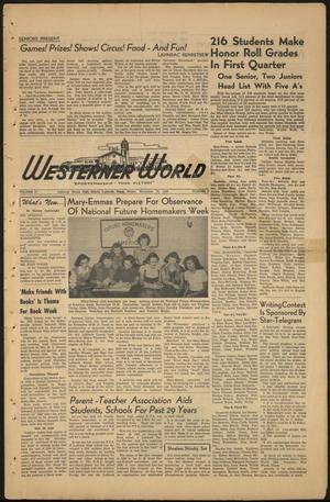 The Westerner World (Lubbock, Tex.), Vol. 17, No. 9, Ed. 1 Friday, November 10, 1950