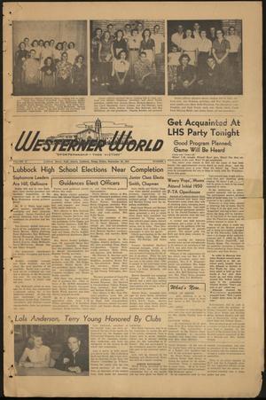 The Westerner World (Lubbock, Tex.), Vol. 17, No. 2, Ed. 1 Friday, September 22, 1950