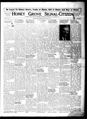 Honey Grove Signal-Citizen (Honey Grove, Tex.), Vol. 51, No. 18, Ed. 1 Friday, May 30, 1941