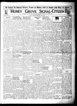 Honey Grove Signal-Citizen (Honey Grove, Tex.), Vol. 53, No. 11, Ed. 1 Friday, April 9, 1943
