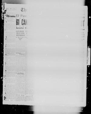 Primary view of object titled 'The Breckenridge American (Breckenridge, Tex.), Vol. 8, No. 198, Ed. 1, Tuesday, June 19, 1928'.