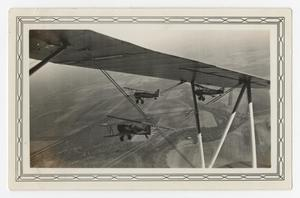Primary view of object titled '[Photograph of Three A-3 Airplanes in Flight]'.