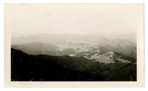 Primary view of object titled '[Looking North from Mount Tamalpais]'.