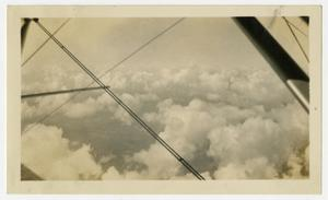 Primary view of object titled '[Photograph of Clouds from the Air]'.