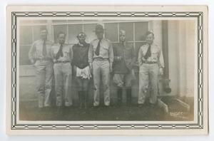 Primary view of object titled '[Photograph of the Flight Instructors of C Flight]'.