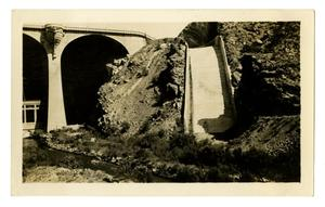 [Photograph of the Spillway at the Coolidge Dam]