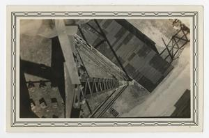 Primary view of object titled '[Photograph Looking Down from the Kelly Field Water Tower]'.