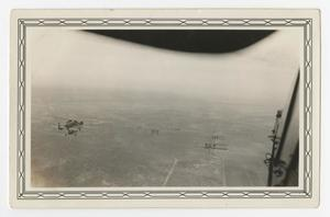 Primary view of object titled '[Photograph of Keystone Bombers in Route Formation]'.