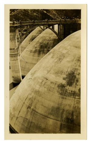Primary view of object titled '[Photograph of the Coolidge Dam]'.