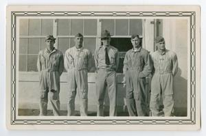 Primary view of object titled '[Photograph of Lieutenant Roth and Students]'.