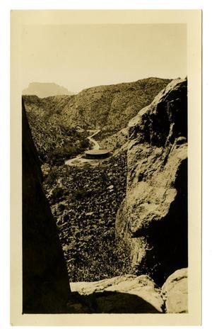 [Photograph of an Arizona Mountain Road]