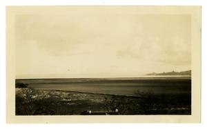 Primary view of object titled '[Photograph of San Francisco Bay from George Pierce's Home]'.