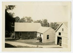 Primary view of object titled '[Photograph of the Pierce Homestead in Massachusetts]'.