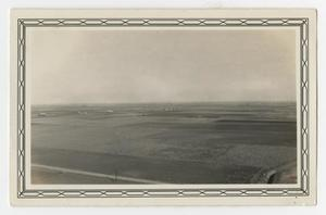 Primary view of object titled '[Photograph Looking Northeast Towards San Antonio]'.