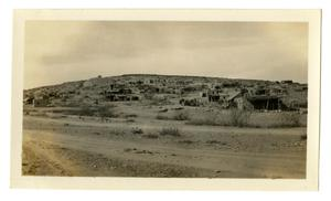 Primary view of object titled '[Photograph Terlingua in Big Bend Country, Texas]'.