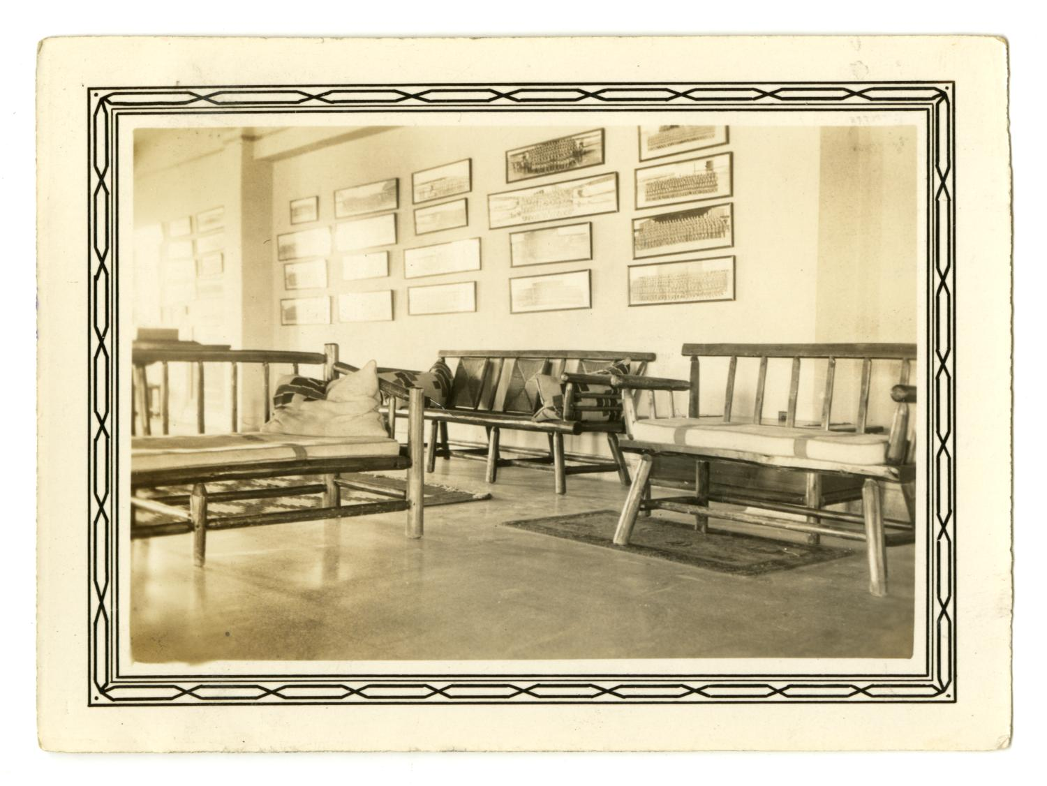 [Photograph of the Recreation Room at Randolph Field]                                                                                                      [Sequence #]: 1 of 2