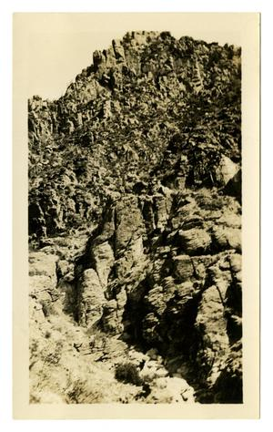 Primary view of object titled '[Photograph of Mountains in Arizona]'.