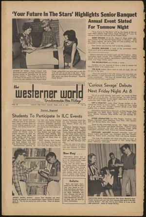 Primary view of object titled 'The Westerner World (Lubbock, Tex.), Vol. 32, No. 24, Ed. 1 Friday, April 15, 1966'.