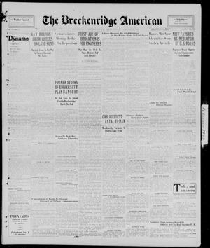 Primary view of The Breckenridge American (Breckenridge, Tex.), Vol. 9, No. 85, Ed. 1, Monday, February 11, 1929