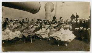 Primary view of object titled '[Photograph of a Group of Women Dancing]'.