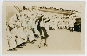 Primary view of object titled '[Photograph of a Woman Dancing]'.