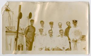 Primary view of object titled '[A Group Photograph of Navy Officers]'.